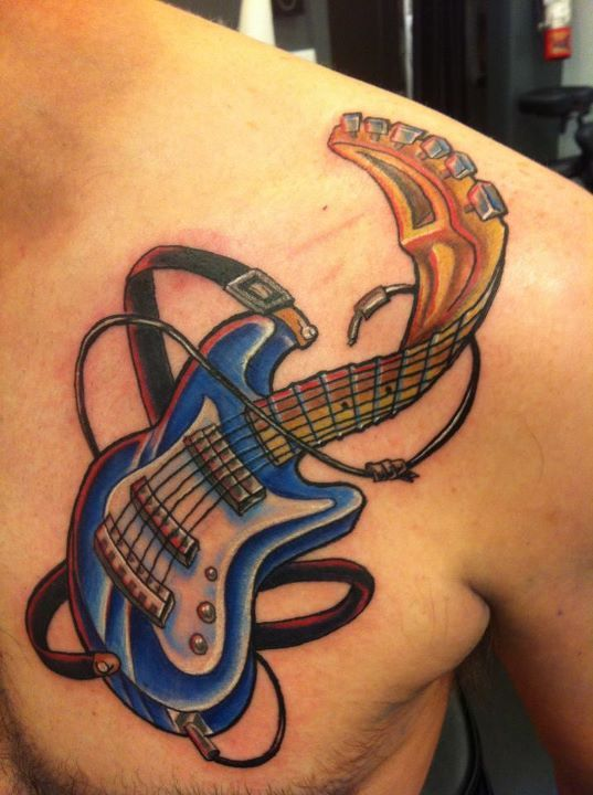 Twisted Guitar