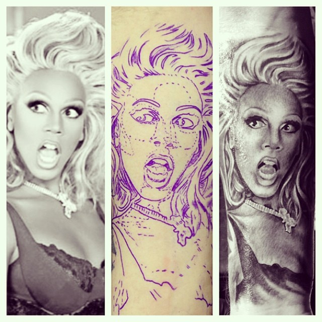Ru Paul Portrait