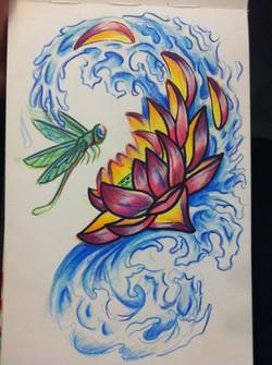 Splashing Lotus