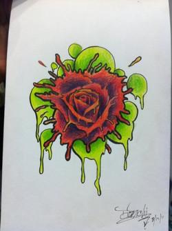 Spatter Rose