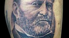 Ulysses S Grant tattoo