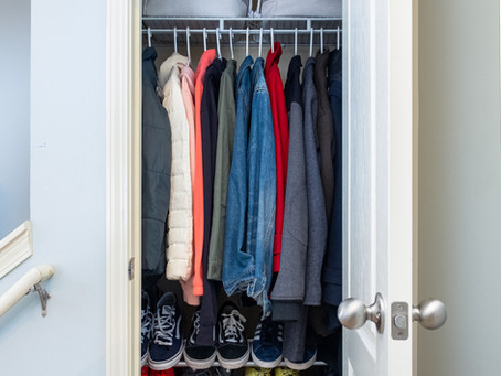 Organize with me Entry and Coat Closet
