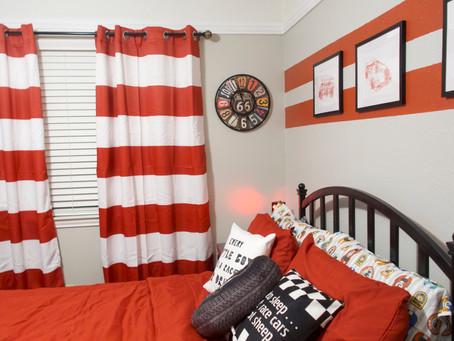 Car Themed Kids Bedroom Makeover