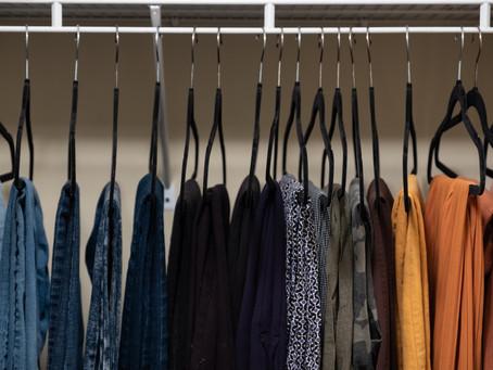 Organize with me Master Closet + Capsule Wardrobe