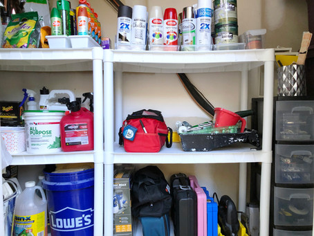 Organize with me Outdoor Storage
