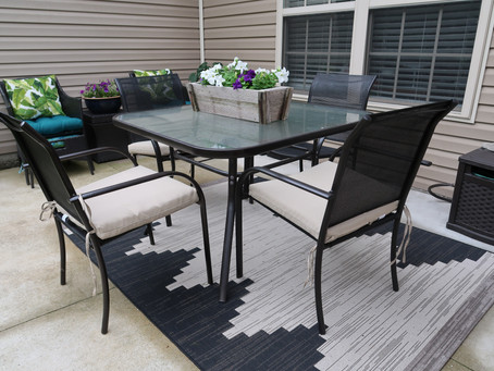 DIY Patio Makeover for UNDER $200