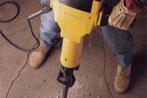 90+ dB Heavy power tools