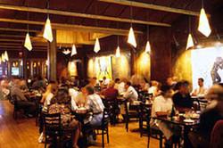 70 dB A busy restaurant