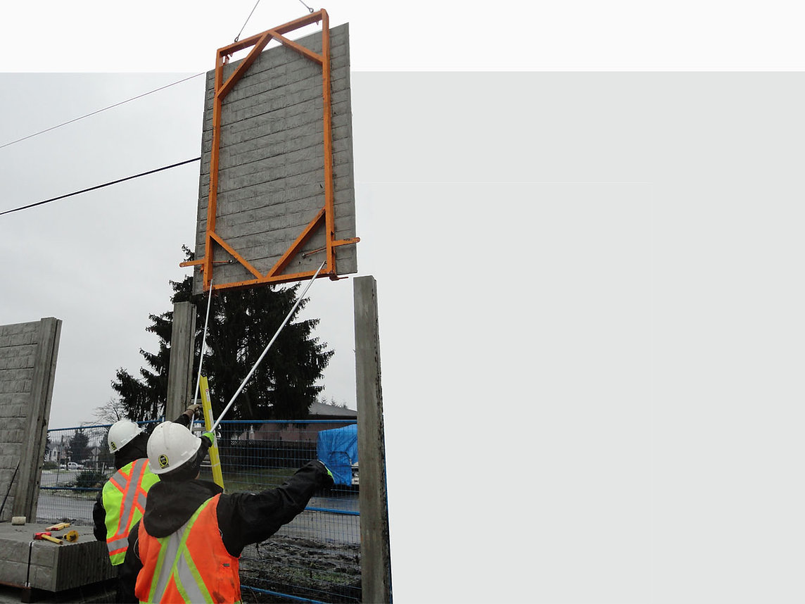 Panel Lifting Frame Concrete Fence