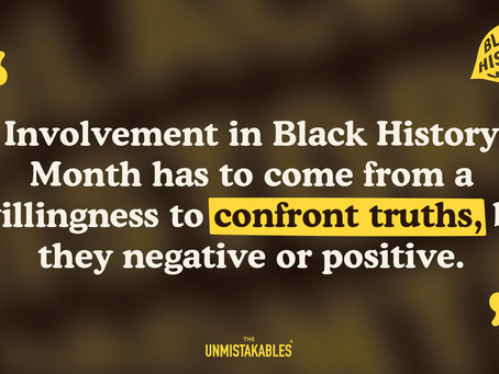 Lesson Seven - Be open to being challenged and held accountable during Black History Month