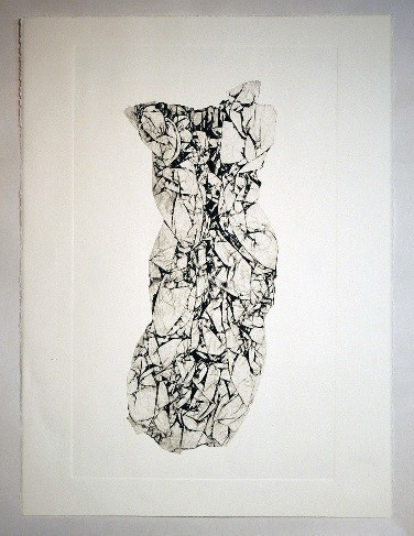 Untitled #6, Black Ink Print by Brent Hoffman, Assoc. AIA