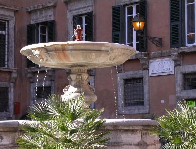 ISU Rome- Piazza delle Cinque Scole