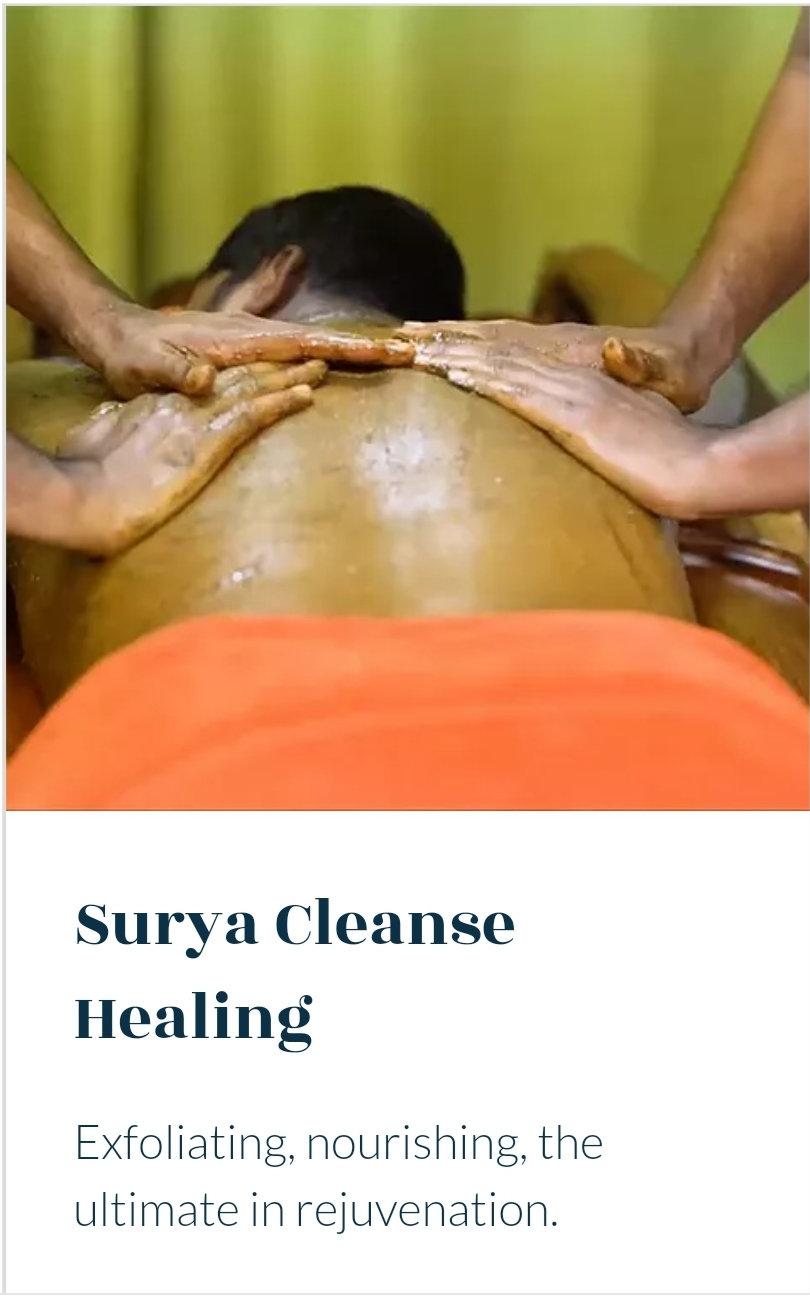 Dry Powder Massage- Udvartana
