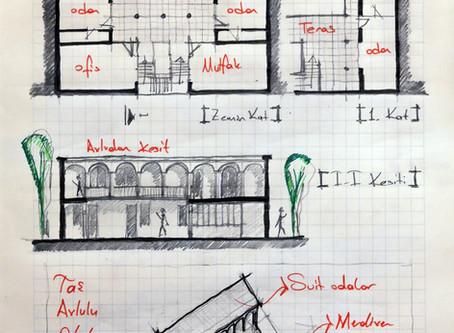 Villa İnşaatı Yapım Aşamaları - 2  [Ahşap, Taş ve Çelik Yapım Sistemleri]