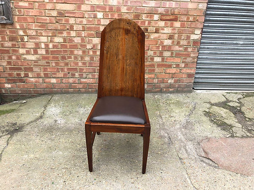 Antic Chair in leather