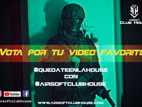 Vota por tu vídeo favorito del reto #quedateenlahouse con #airsoftclubhouse
