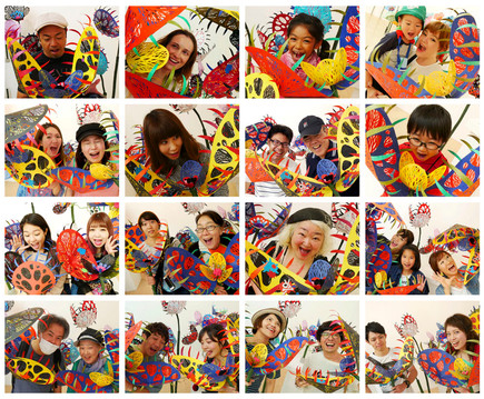 Paper Flower Exhibition 2_食べられる〜