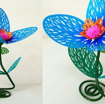 珊瑚花(三花)青
