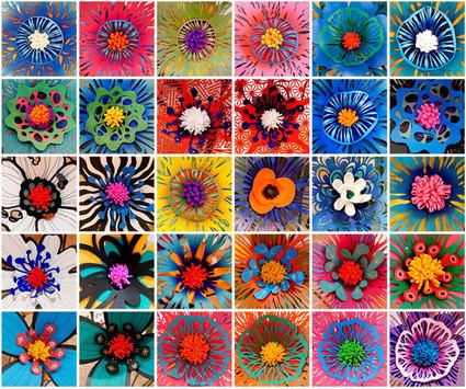 Paper Flower Exhibition