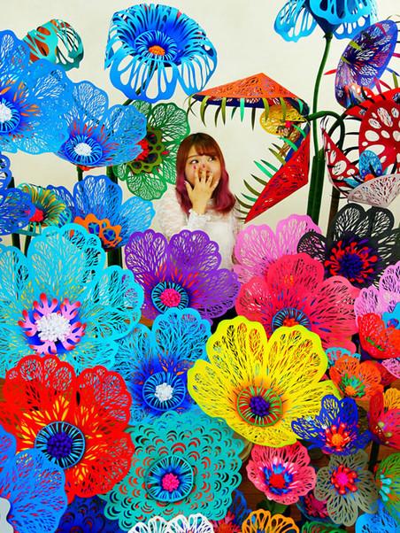 Paper Flower Exhibition 2