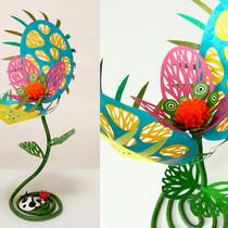 食虫植物(青竹+黄)