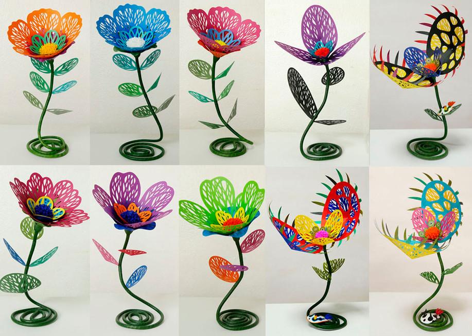 テーブルサイズ珊瑚花
