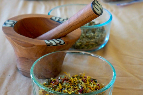"""""""Calm Cool & Collected"""" Herbal Smoke Blend"""