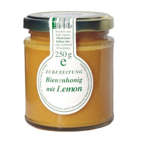 Honig mit Lemon, 250g