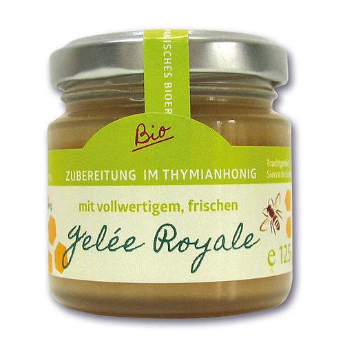 BIO Gelée Royal im BIO Lavendel-/Thymianhonig, 125g