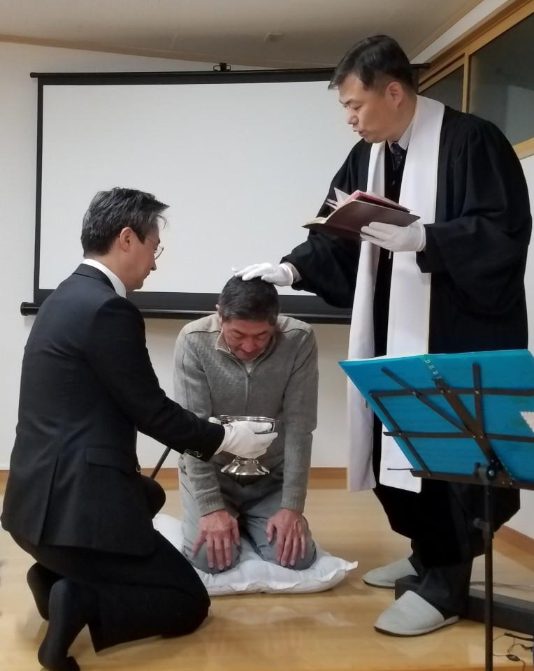 2019.12.6 洗礼式