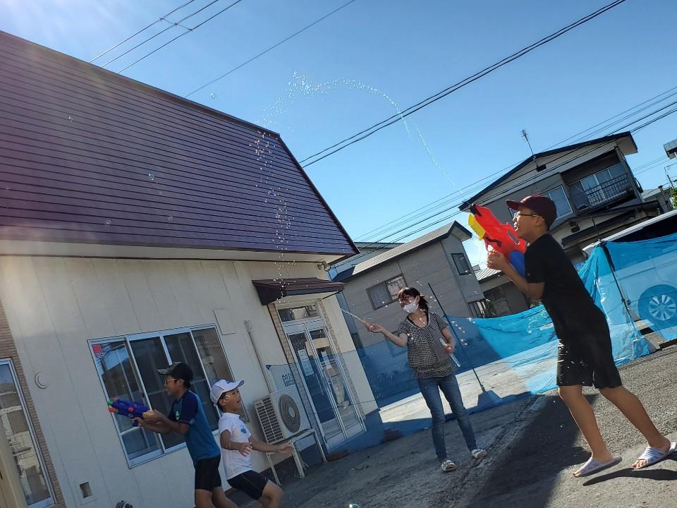 2020/8/23 教会学校☆水遊び