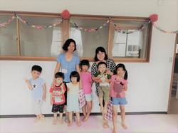 夏の子供キャンプ