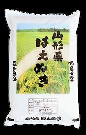 山形県産はえぬきの米袋