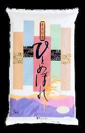 山形県産ひとめぼれの米袋
