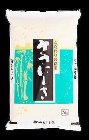 山形県産ささにしきの米袋