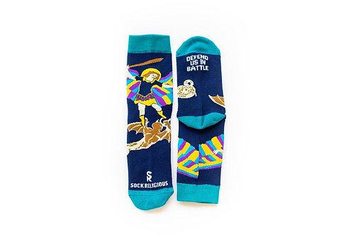 St. Michael Socks