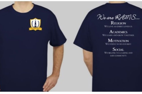 "DONATE ITEM:  ""PE Shirt"""