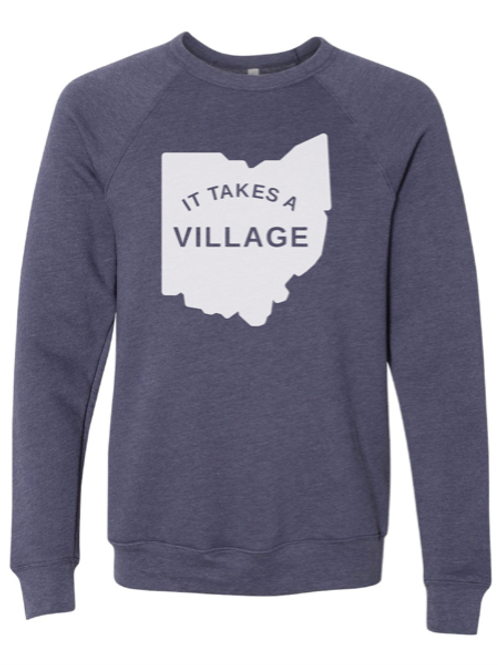 "Crewneck Fundraiser ""It Takes A Village"""