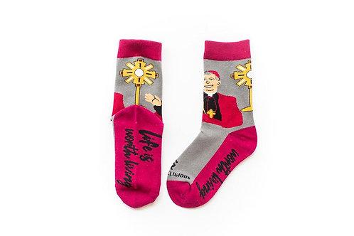 Archbishop Fulton Sheen Socks