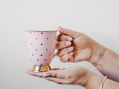 כוס קפה פשוטה