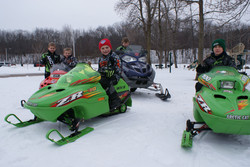 WCSA 3 - Youth Event -Kids on the pint-size sleds