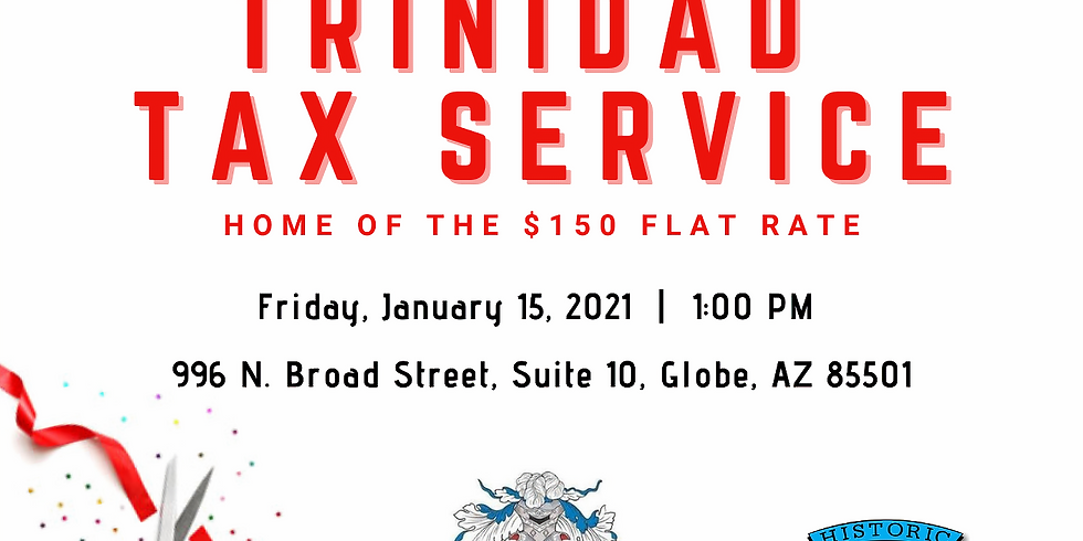 Trinidad Tax Service Ribbon Cutting Ceremony
