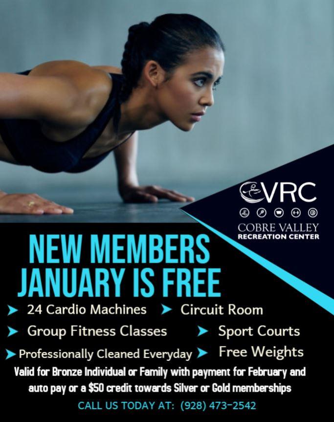 CVRC January Special
