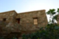 Greek island modern architecture