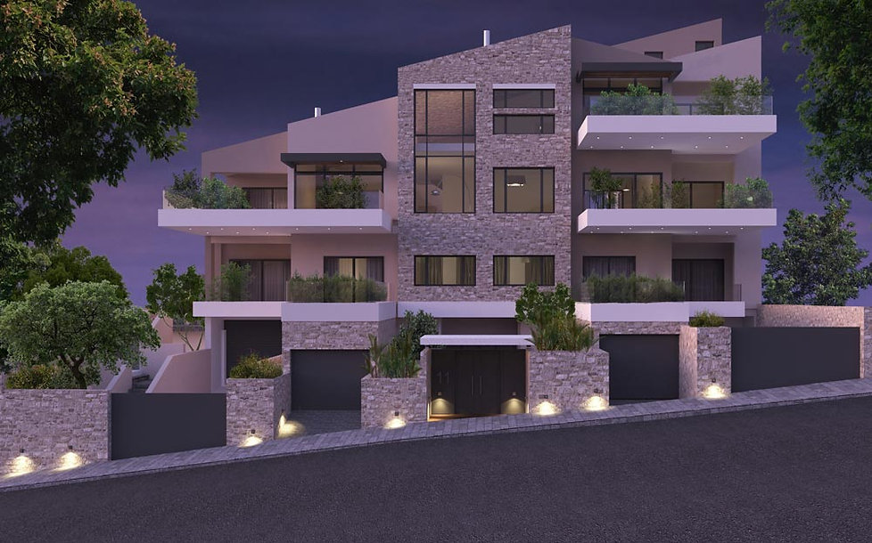 Apartment complex in Voula