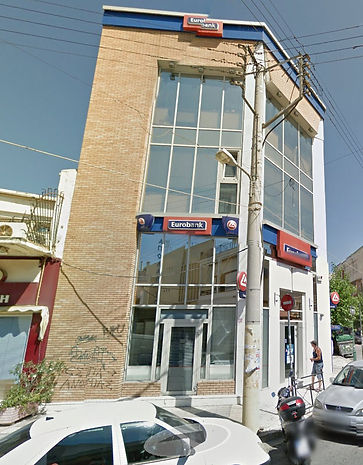 Eurobank branch in Nikaia