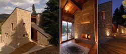 Stone built home in Parnassos