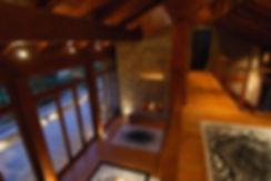 Interior design of a winter retreat in Mountain Parnassos