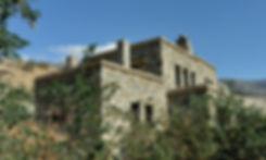 Λιθοκτιστη κατοικια με χαρακτηριστικα τοπικης ανδριωτικης αρχιτεκτονικης και συγχρονη διαρρυθμιση