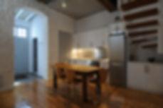 Αναμορφωση θερινης κατοικιας στον Πυργο της Τηνου, αποψη κουζινας